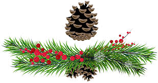 christmas ornaments clipart boughs pencil and in color christmas