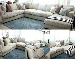 Extra Large Sectional Sofas With Chaise Sectional Large Gray Microfiber Sectional Large Grey Sectional