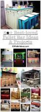 50 best loved pallet bar ideas u0026 projects