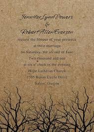 winter wedding invitations vintage winter branches wedding invitations ewi259 as low as 0 94