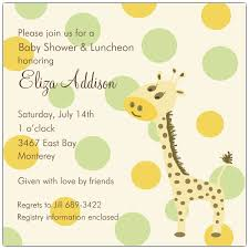 giraffe themed baby shower baby shower invitations with giraffes wally designs