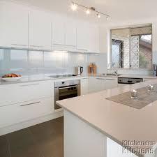 Shiny White Kitchen Cabinets Kitchen Room Design Furniture Interior Kitchen Splendid White