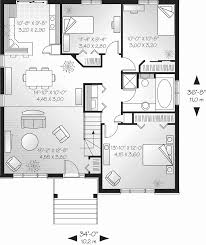 small one story house plans one story house plans unique bedroom single open with concept modern