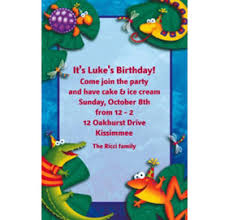 custom bugs u0026 reptiles invitations u0026 thank you notes party city