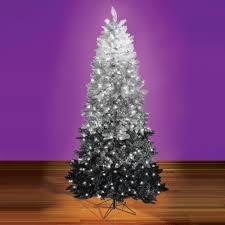 the black ombré tree hammacher schlemmer