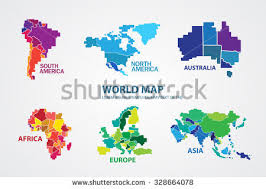 america in world map america map stock images royalty free images vectors