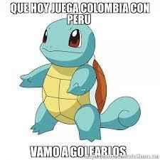imagenes chistosas hoy juega colombia que hoy juega colombia con peru vamo a golearlos meme de vamo a