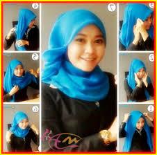 tutorial hijab segi empat paris simple tutorial hijab segi empat untuk ke kantor dengan kerudung paris