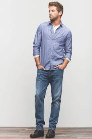 how to wear blue jeans with a white henley shirt men u0027s fashion