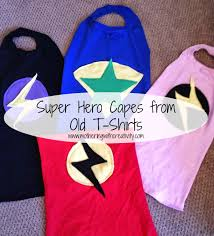 mothering with creativity super hero capes tutorial
