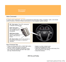 honda accord 2010 8 g technology reference guide