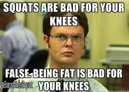 Do You Even Squat Meme - lol actually even if you have knee problems there are lots of