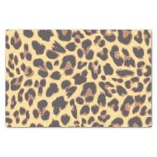 cheetah print tissue paper animal print skin craft tissue paper zazzle