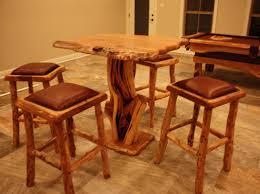 Maple Dining Room Sets 7 U0027 Maple Natural Slab Table Dining Set Treemendous