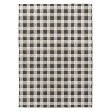 Plaid Area Rug Black Plaid Rugs Area Rugs For Less Overstock