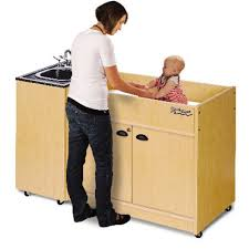 Changing Table Portable Changing Table Portable Sink Abs Single Basin And Top Or Ksstmabab1n
