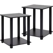 reclaimed wood end table reclaimed wood end side tables you ll love wayfair ca