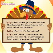 Story About Thanksgiving Thanksgiving Jokes For Kids