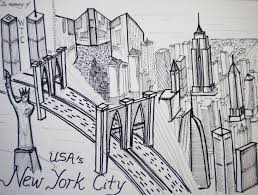 sketch my blog city by vincent loy