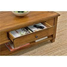 altra san antonio wood veneer coffee table tuscany oak walmart com
