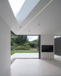fraher architects u0027 house extension features a slice of glass