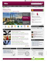 design home page online intranet design technologie pinterest homepage design and