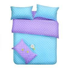 Polka Dot Bed Set Purple Blue Dots Bedding Sets Polka Dot Size