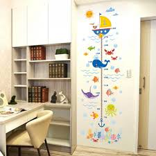 ocean decorations for home fundecor cartoon ocean fish wall