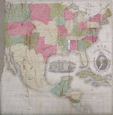 Wall Map Of Usa by File 1854 Map Of Usa Mexico Jpg Wikimedia Commons