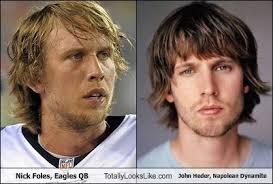 Nick Foles Meme - nick foles eagles quarterback totally looks like jon heder