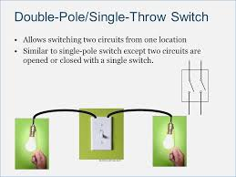 pole single throw switch wiring diagram crayonbox co