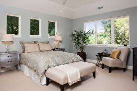 bed without headboard bedroom contemporary with carpet flooring