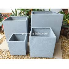 garden ornaments large square outdoor planters buy square