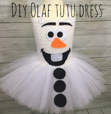 olaf costume diy olaf costume tutu dress