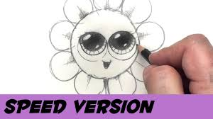 how to draw a flower with coins speed drawing cartoon flower