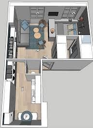 chambres de bonnes studio neuilly sur seine 29 m2 aménagés en appart moderne côté