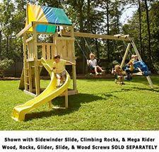 Metal Backyard Playsets Swing Sets Wooden Metal Kids U0026 Backyard Ebay