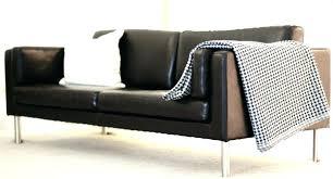 ikea leather sofa ikea black leather sofa triumphcsuite co