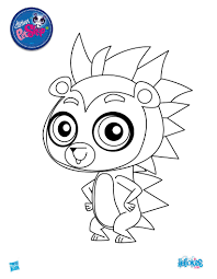 littlest pet shop coloring pages itgod me