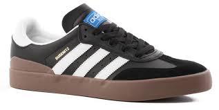 black samba adidas busenitz vulc rx samba edition skate shoes free shipping