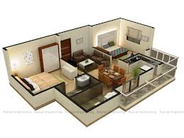Home Design 3d Game by 25 More 3 Bedroom 3d Floor Plans House Design Bed Momchuri