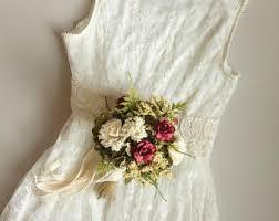 wedding bouquet flowers silk flower bouquet etsy