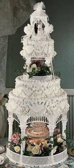wedding cake kit gazebo cake kit wilton