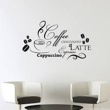 stickers pour cuisine sticker design café et chocolat sticker design kitchen wall