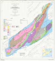 Map Me Geological Map Of The Boisdale Peninsula Central Cape Breton