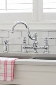 kitchen faucets mississauga moen u0027s waterhill high arc kitchen faucet vanessa francis design
