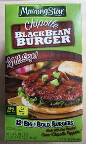 costco eats morningstar farms chipotle black bean veggie burger