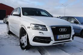 Audi Q5 2013 - spied 2013 audi q5 to receive a trivial makeover