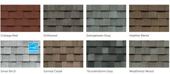 Roof Tile Colors Timberline Vs Landmark Shingles Compare Colors And Styles
