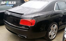 bentley rear 2014 2017 bentley flying spur tesoro rear lip spoiler